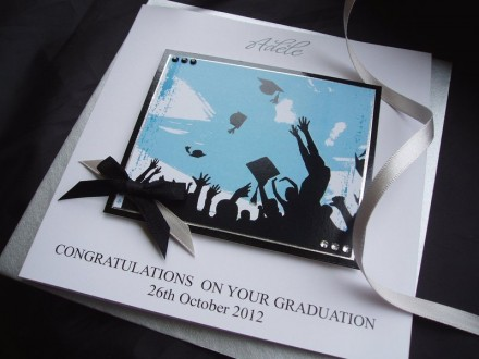 Handmade Graduation Card Celebration