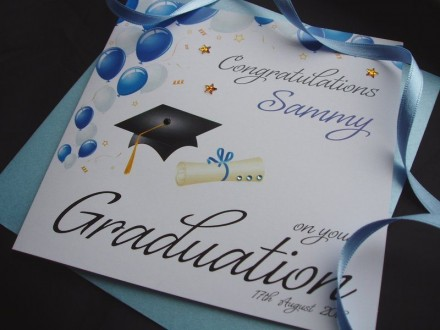 Handmade Graduation Card Mortarboard