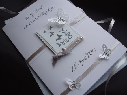 Beautiful Groom to Bride Card