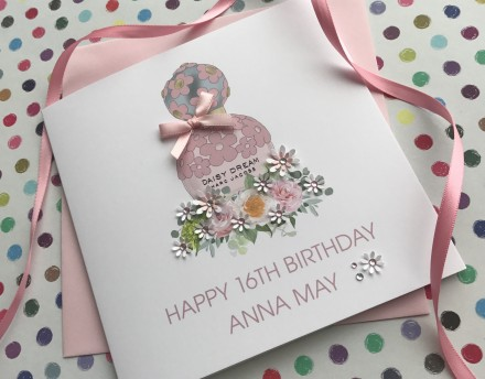 Handmade Birthday Card (Daisy Dream Blush)