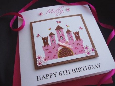 Fairy Tale Castle Birthday Card