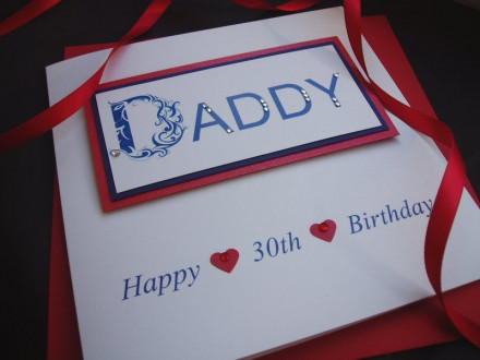 Birthday Daddy Card