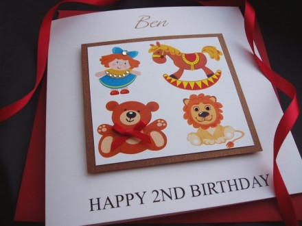 Nursery Toys Birthday Card