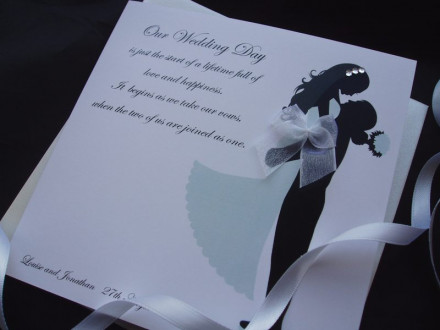 Wife to be/Husband to be Card