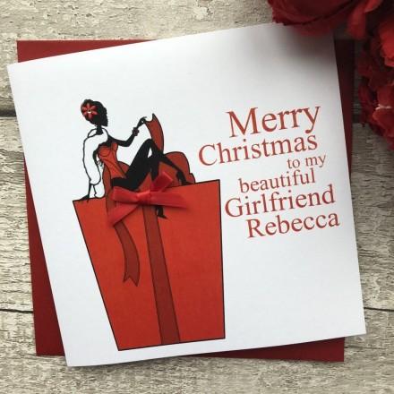 Handmade Christmas Card 'Gift'