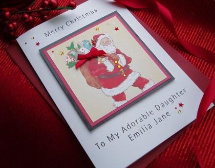 Handmade Christmas Card Toys