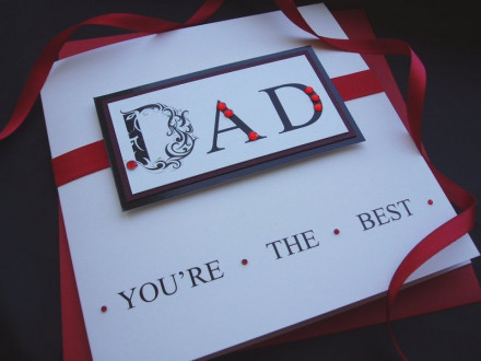 'DAD' Father's Day Card