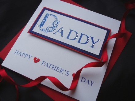'DADDY' Father's Day Card