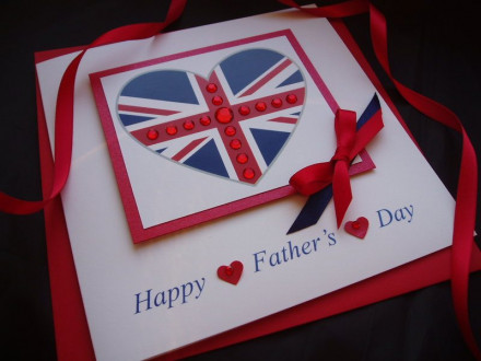 Union Jack Father's Day Card