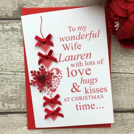 Handmade Christmas Card 'Snowflake'