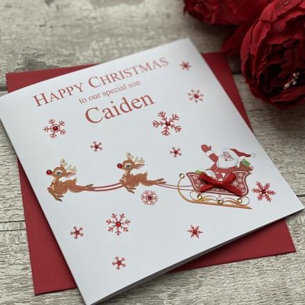 Handmade Christmas Card 'Santa'