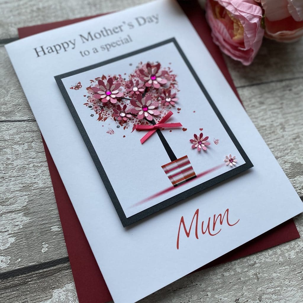 luxury mother's day cards  mother's day cardspink  posh