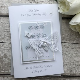 Handmade Luxury Wedding Card