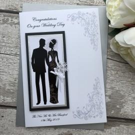 Luxury Handmade Wedding Card