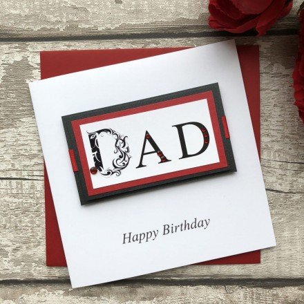 Handmade Birthday Card 'Dad'