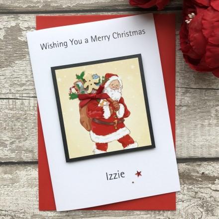 Handmade Christmas Card 'Toys'