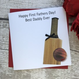 Handmade Father's Day Card 'Cricket'