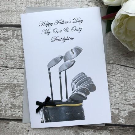 Handmade Father's Day Card 'Golf'