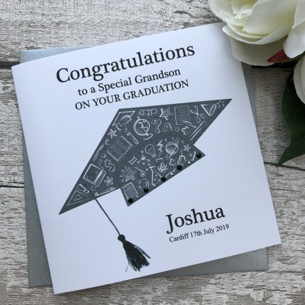 Handmade Graduation Card Mortar Board