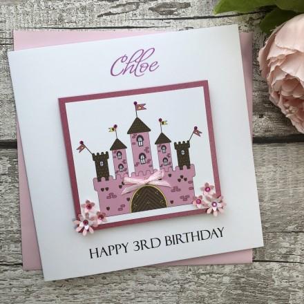 Fairy Tale Castle Birthday Card