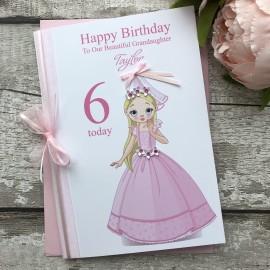 Handmade Birthday Card 'Princess'
