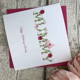 """Handmade Mother's Day Card """"Buttons"""""""