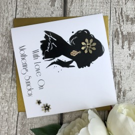 Handmade Mother's Day Card (Darling Darling)