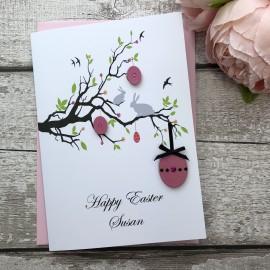 """Handmade Easter Card """"Easter Branch"""""""