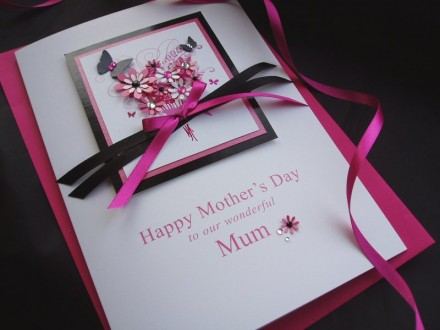 "Luxury Mother's Day Card ""Floral Bouquet"""