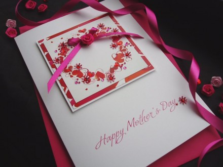 """Luxury Mother's Day Card """"Heart of Hearts"""""""
