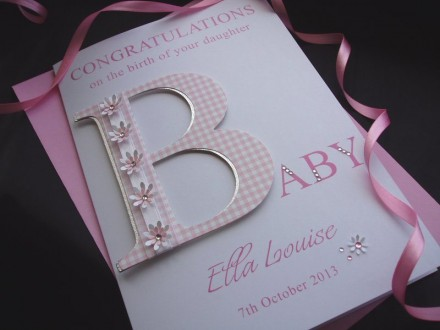 New Baby B Card
