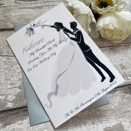 Thank You Bride/Groom-to-be Card