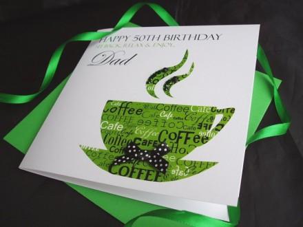 Birthday Coffee Card