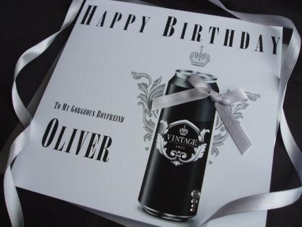 Birthday Vintage Beer Card
