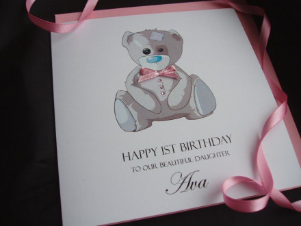 Tatty Teddy Birthday Card