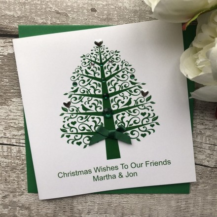 Handmade Christmas Card 'Tree'