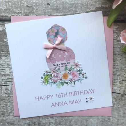 Handmade Birthday Card 'Daisy Dream'