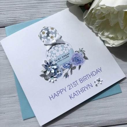 Handmade Personalised Birthday Card (Daisy Dream)