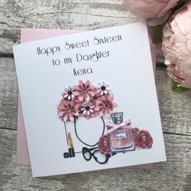 Handmade Birthday Card 'Designer Must Haves'