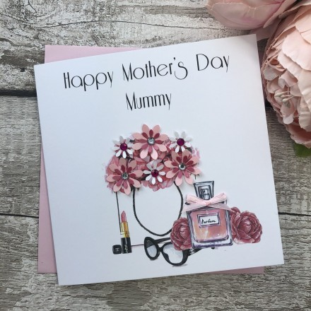 Magnificent Mothers Day Cards Personalised Handmade Mothers Day Cardspink Posh Funny Birthday Cards Online Fluifree Goldxyz