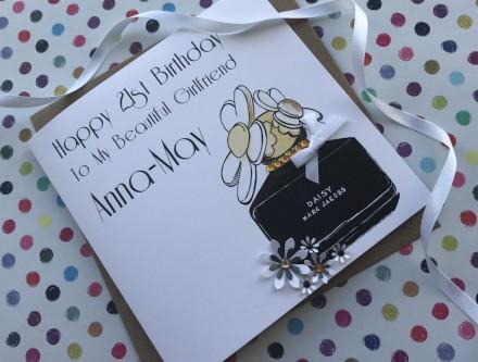 Handmade Birthday Card (Daisy Daisy)