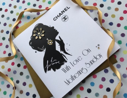 Handmade Mother's Day Card (Chanel Darling)