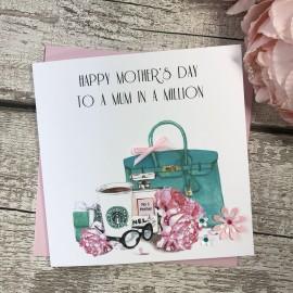 Handmade Mother's Day Card (Starbucks)
