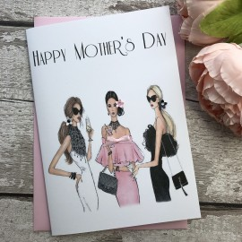 Handmade Mother's Day Card 'Designer Ladies'