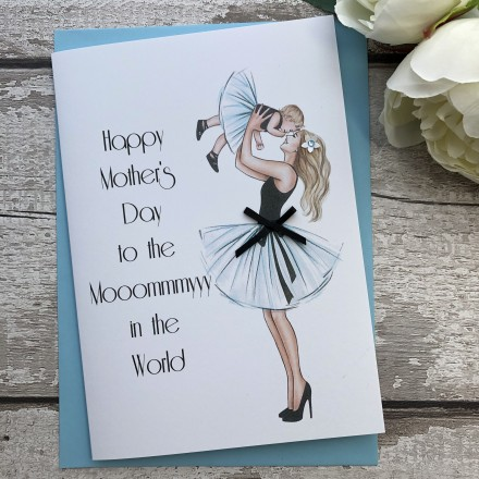 Handmade Mother's Day Card 'Baby'